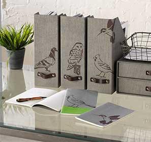 Funky Birds Magazine Holders