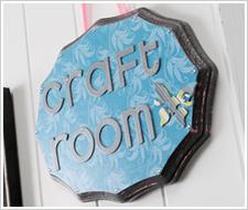 My Craft Room Plaque