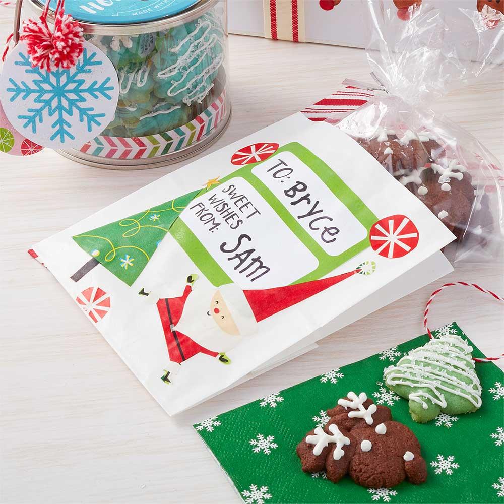 DIY Holiday Cookie Treat Bag