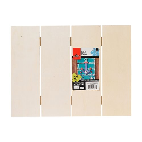 "Plaid ® Wood Surfaces - Pallet Plaque, 15-3/4"" x 11-3/4"" - 40643E"