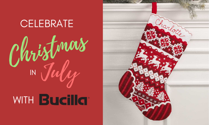 Celebrate Christmas in July with Bucilla