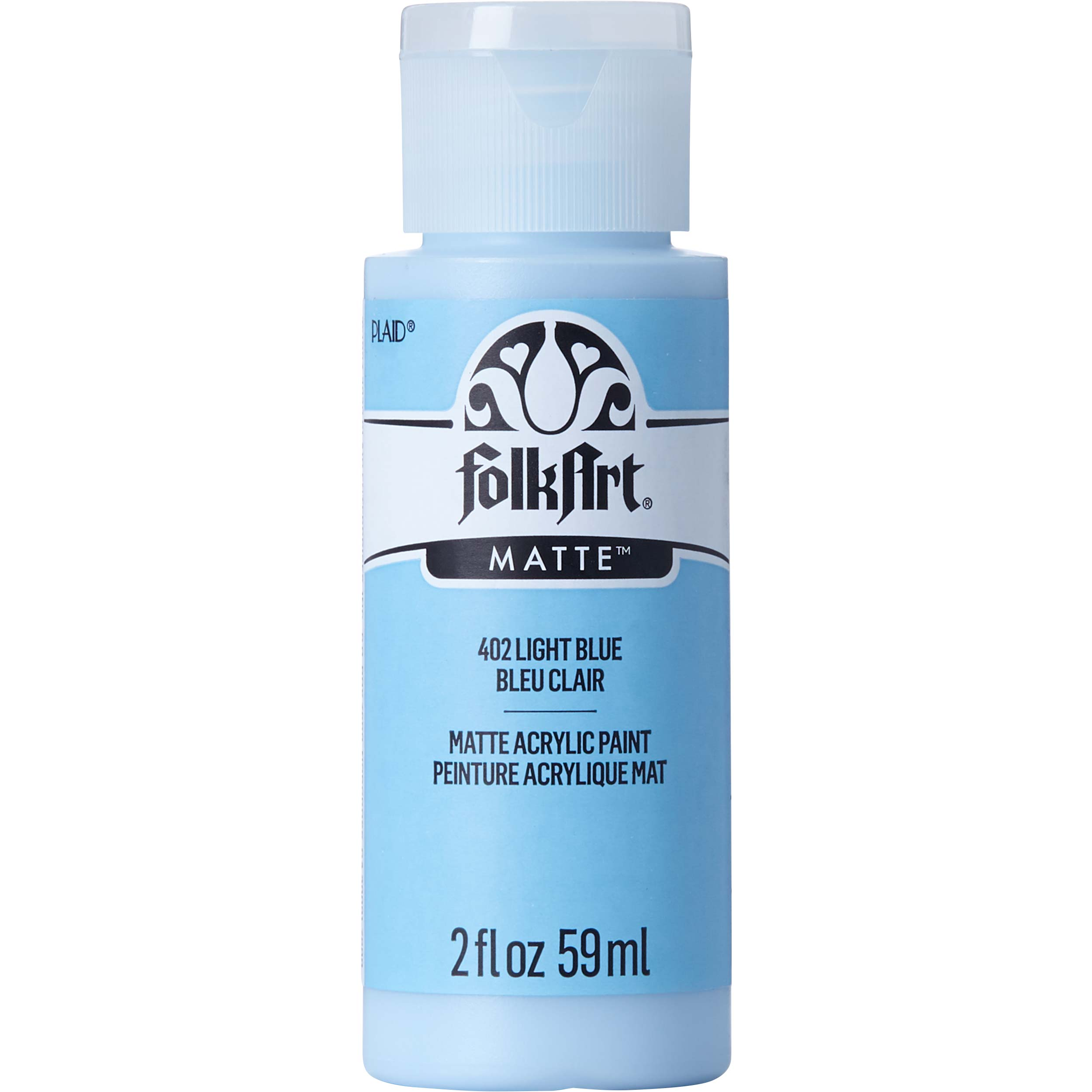 FolkArt ® Acrylic Colors - Light Blue, 2 oz. - 402