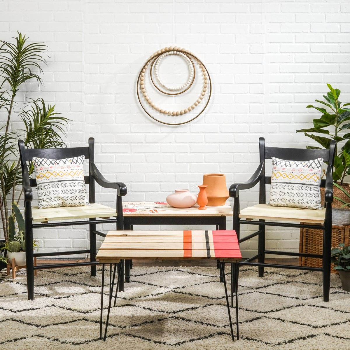 Upcycled Dining Chairs