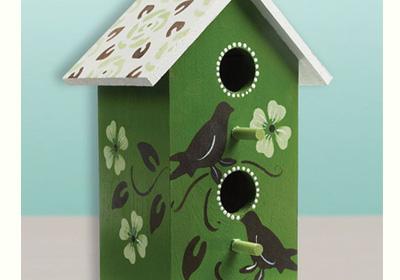 Silhouette Birdhouse