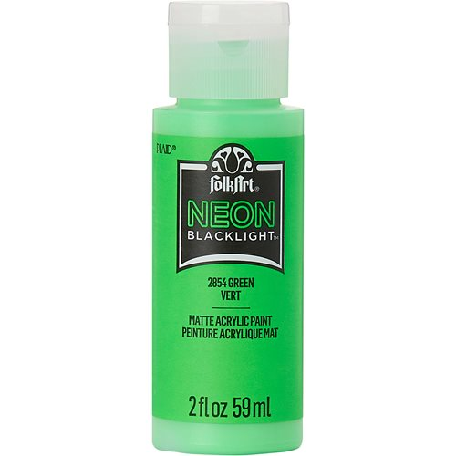 FolkArt ® Neons -  Green, 2 oz. - 2854