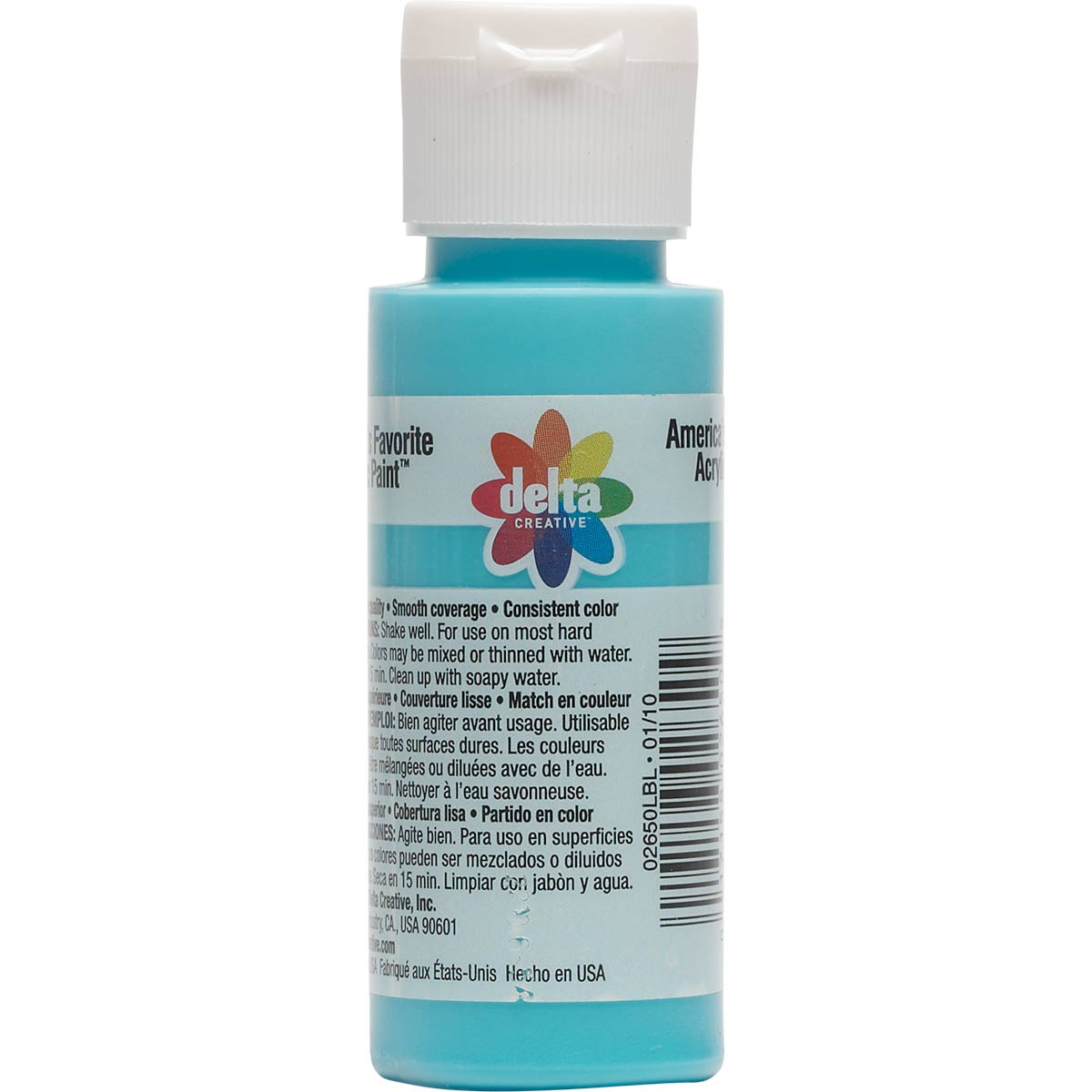 Delta Ceramcoat ® Acrylic Paint - Tahiti Blue, 2 oz.