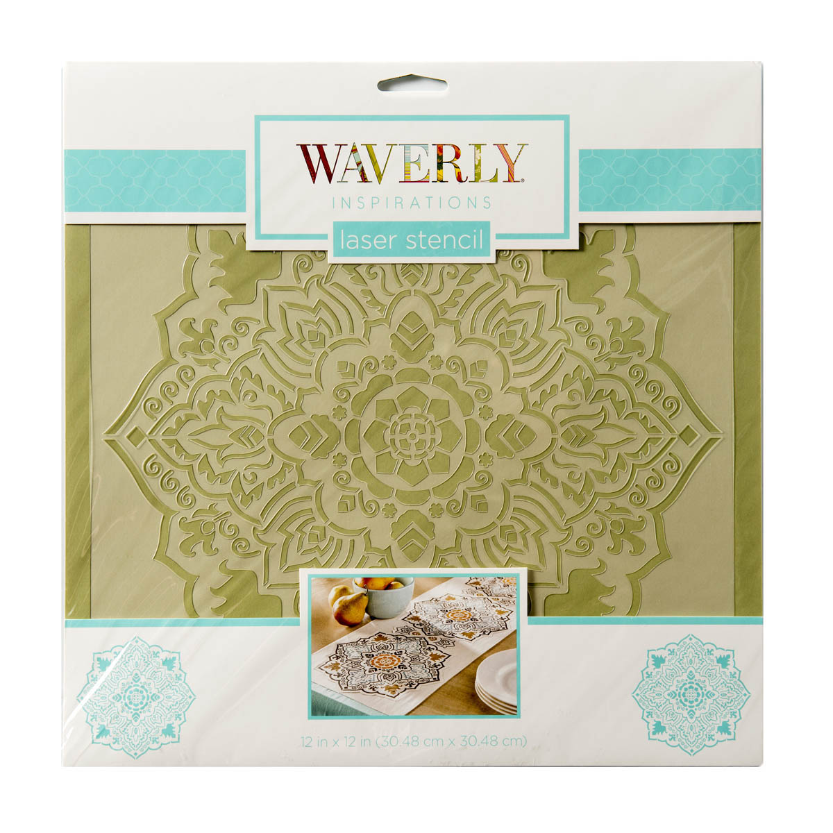 Waverly ® Inspirations Laser Stencils - Décor - Tile, 12