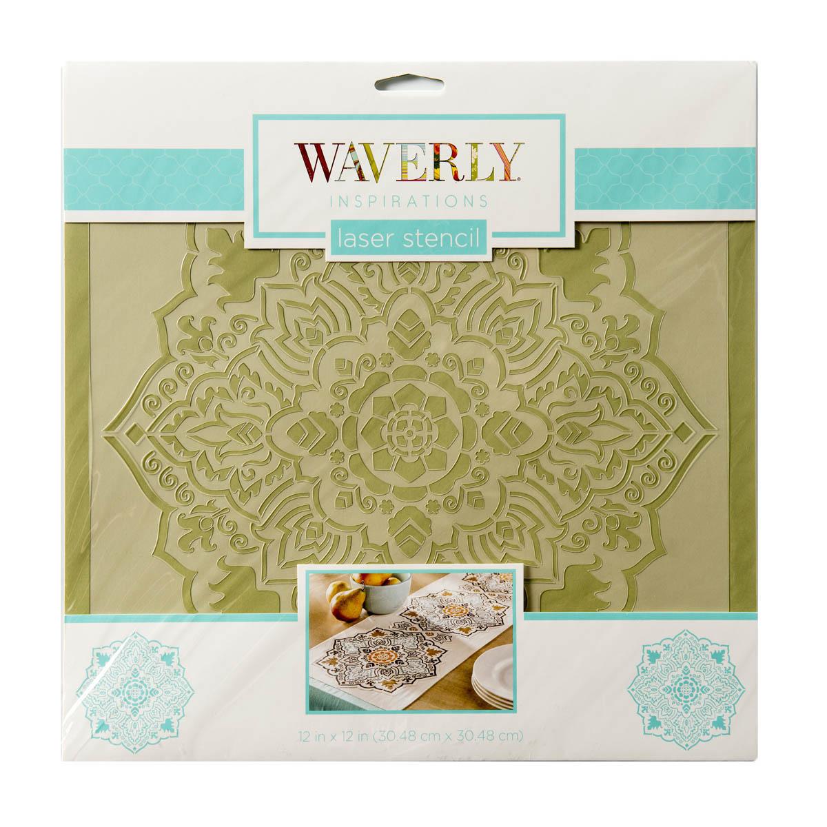 Waverly ® Inspirations Laser Stencils - Décor - Tile, 12