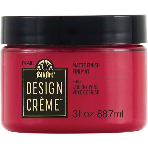 FolkArt ® Design Creme™ - Cherry Wine, 3 oz. - 34683