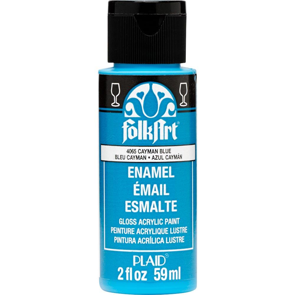 FolkArt ® Enamels™ - Cayman Blue, 2 oz. - 4065