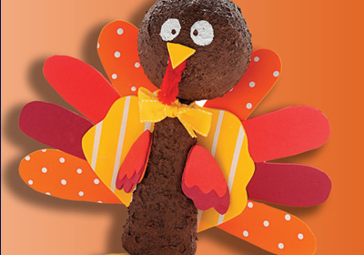 Festive Turkey Kids Craft