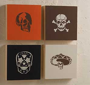 Skull Canvases