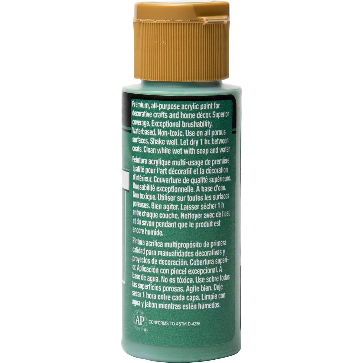 FolkArt ® Acrylic Colors - Smoky Jade, 2 oz.