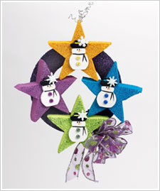 Star Mini-Wreath