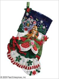 Bucilla ® Seasonal - Felt - Stocking Kits - Princess