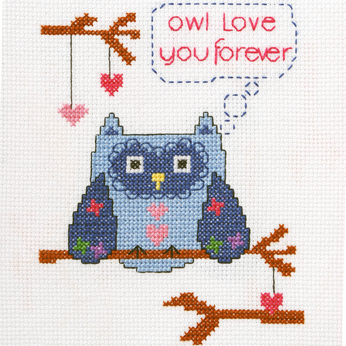 Bucilla ® My 1st Stitch™ - Counted Cross Stitch Kits - Owl Love You Forever