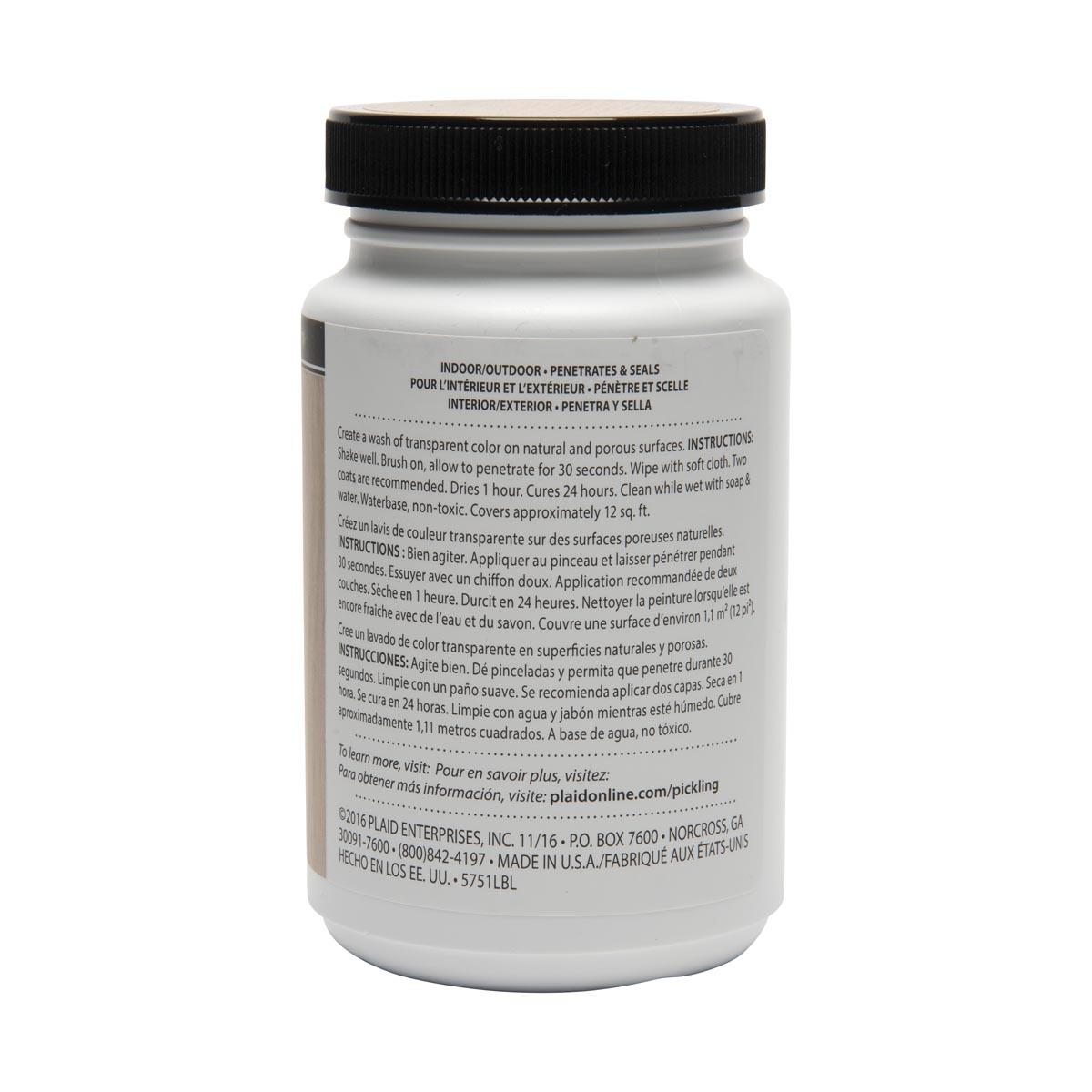 FolkArt ® Pickling Wash™ - Champignon, 8 oz. - 5751