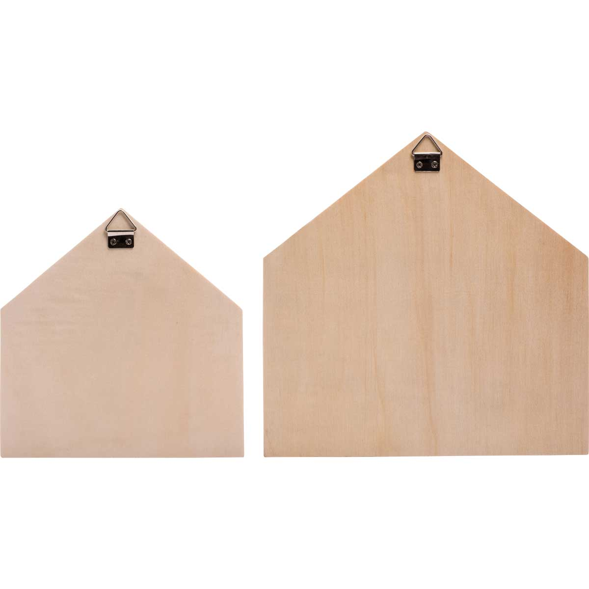 Plaid ® Wood Surfaces - Shadowbox Houses, 2 pc.
