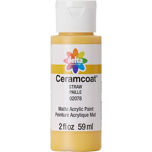 Delta Ceramcoat ® Acrylic Paint - Straw, 2 oz. - 020780202W