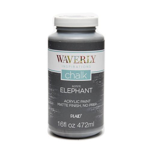 Waverly ® Inspirations Chalk Finish Acrylic Paint - Elephant, 16 oz. - 60757E