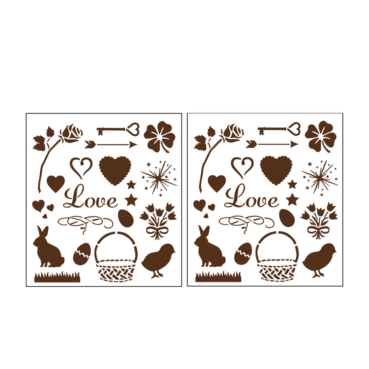 Martha Stewart Crafts ® Holiday Icons Laser-Cut Stencils