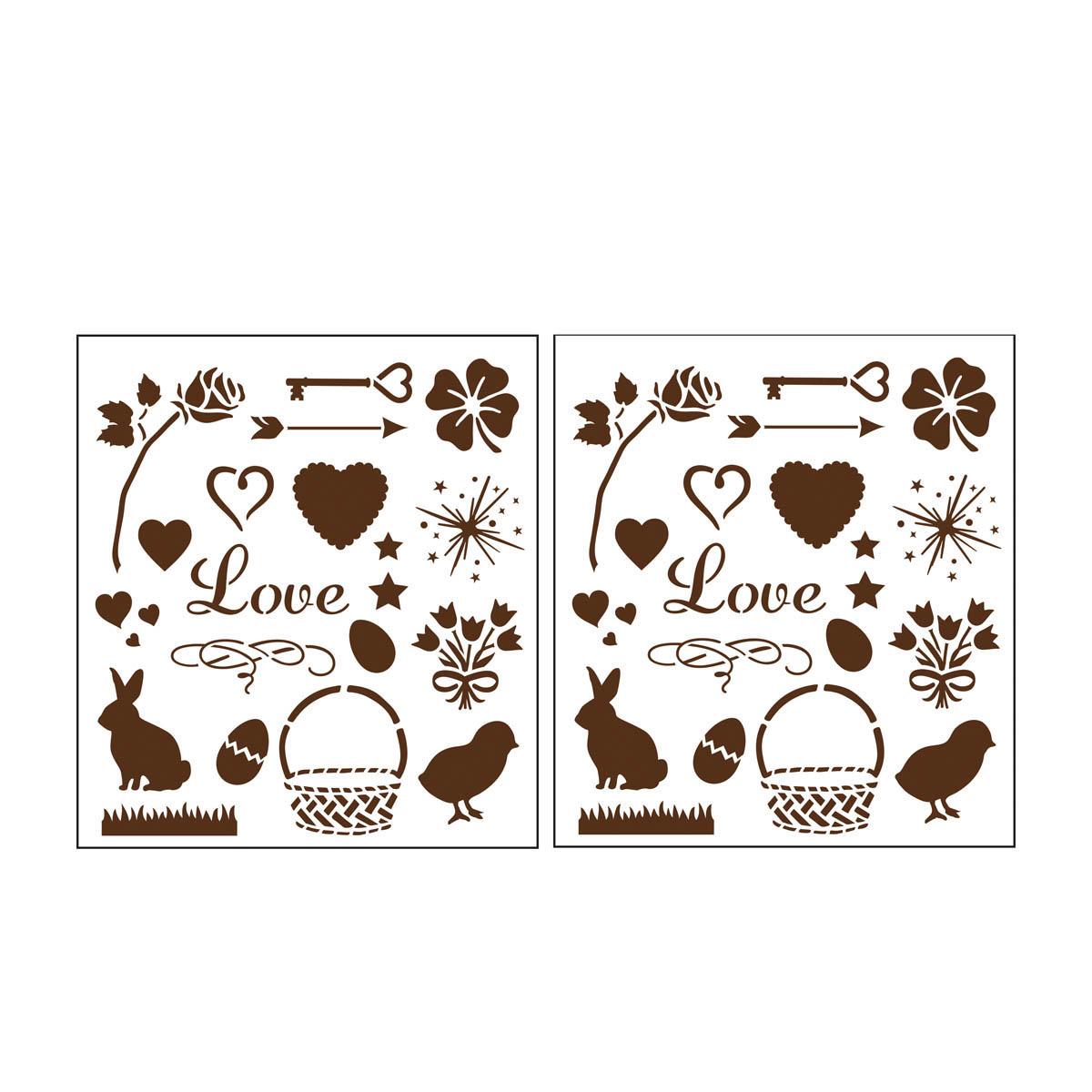 Martha Stewart ® Laser-Cut Stencil - Holiday Icons - 32260