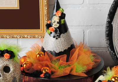 Witches Hat Centerpiece