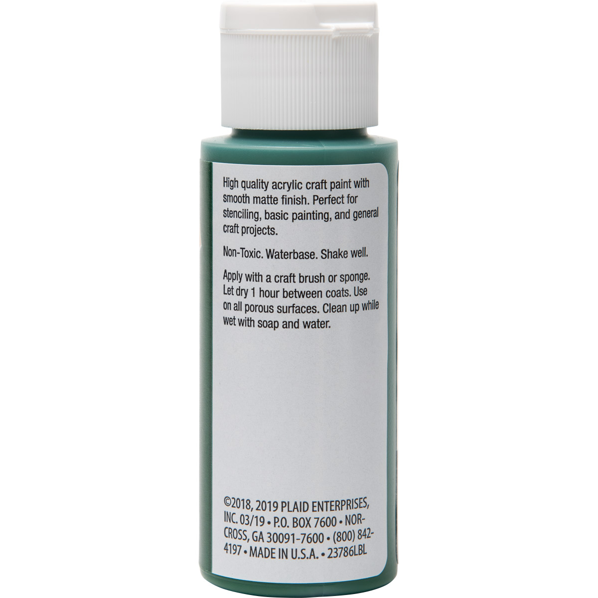 Plaid ® Painter's Palette™ Acrylic Paint - Green, 2 oz.