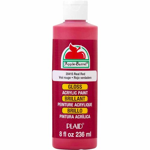 Apple Barrel ® Gloss™ - Real Red, 8 oz. - j20415