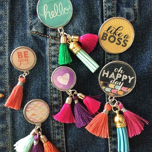 Tassel Flair Pins