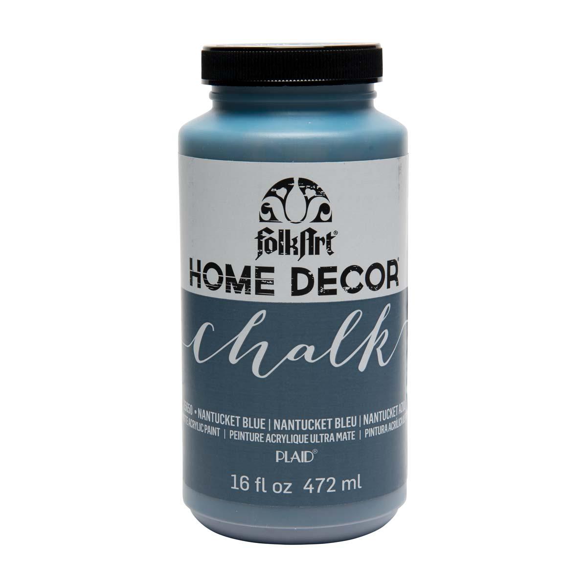 FolkArt ® Home Decor™ Chalk - Nantucket Blue, 16 oz.