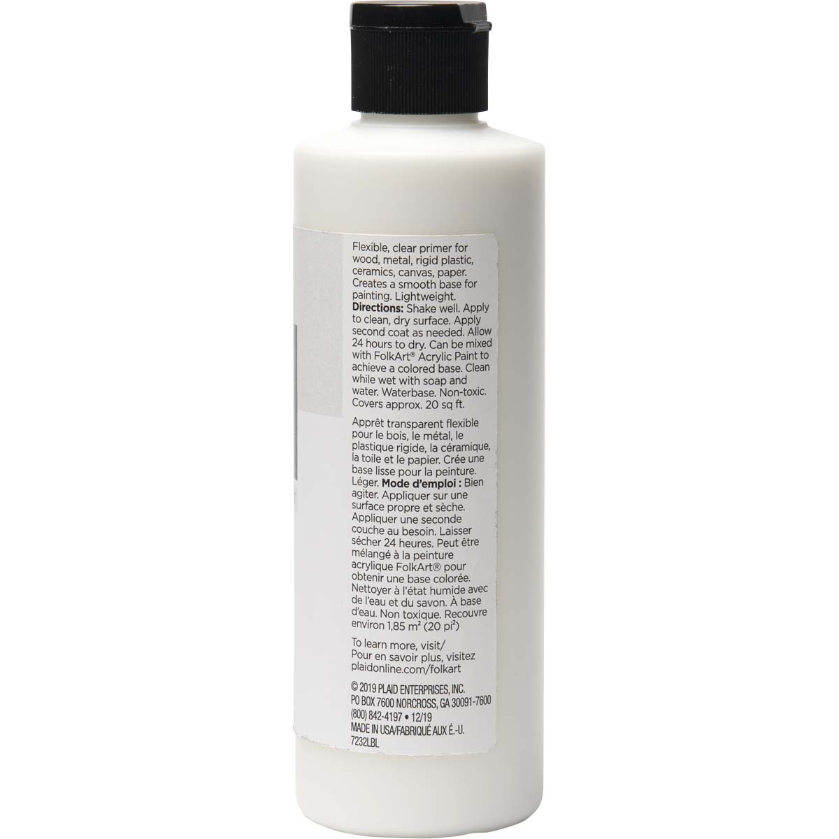 FolkArt ® Mediums - Clear Paint Primer, 8 oz. - 7232