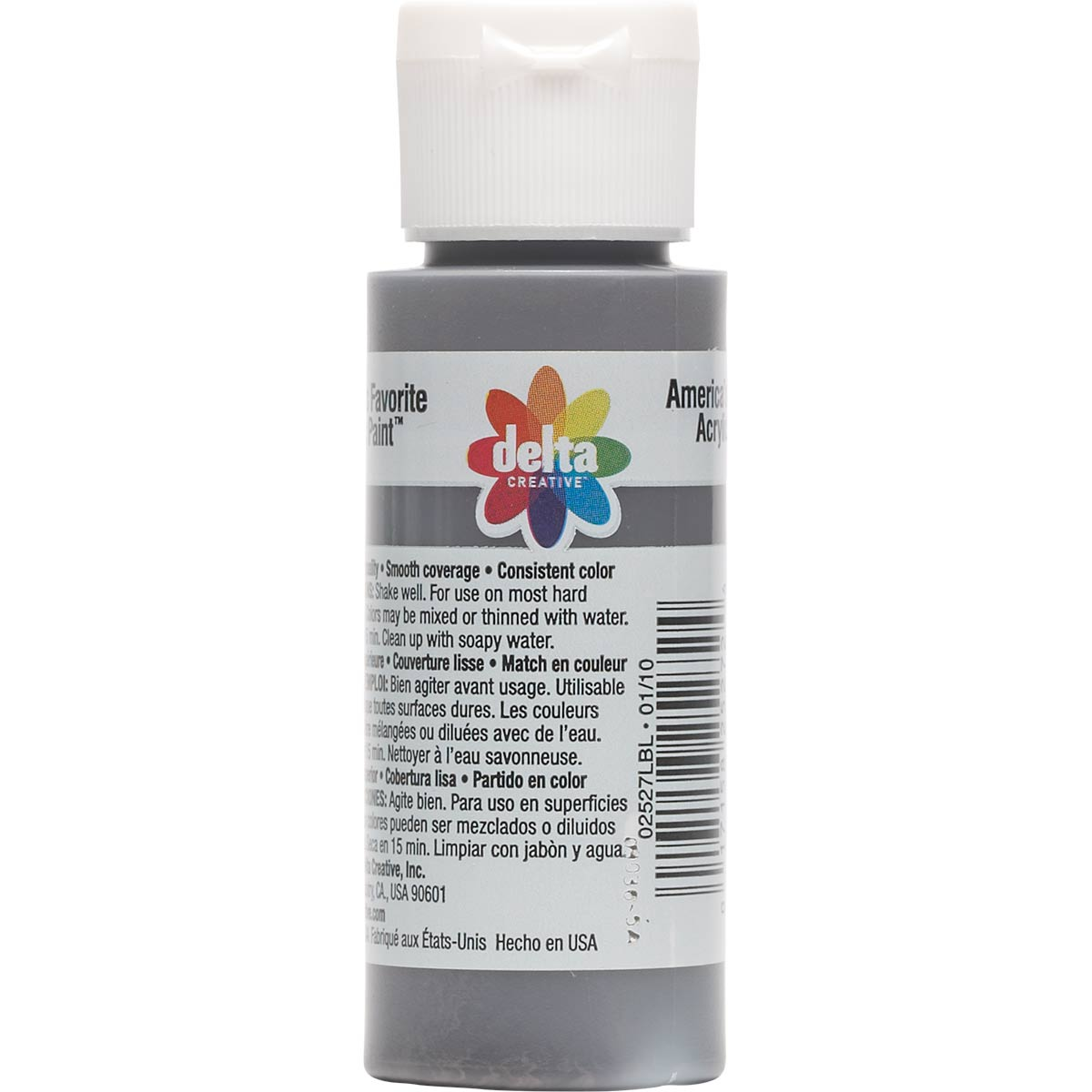 Delta Ceramcoat ® Acrylic Paint - Dark Burnt Umber, 2 oz. - 025270202W