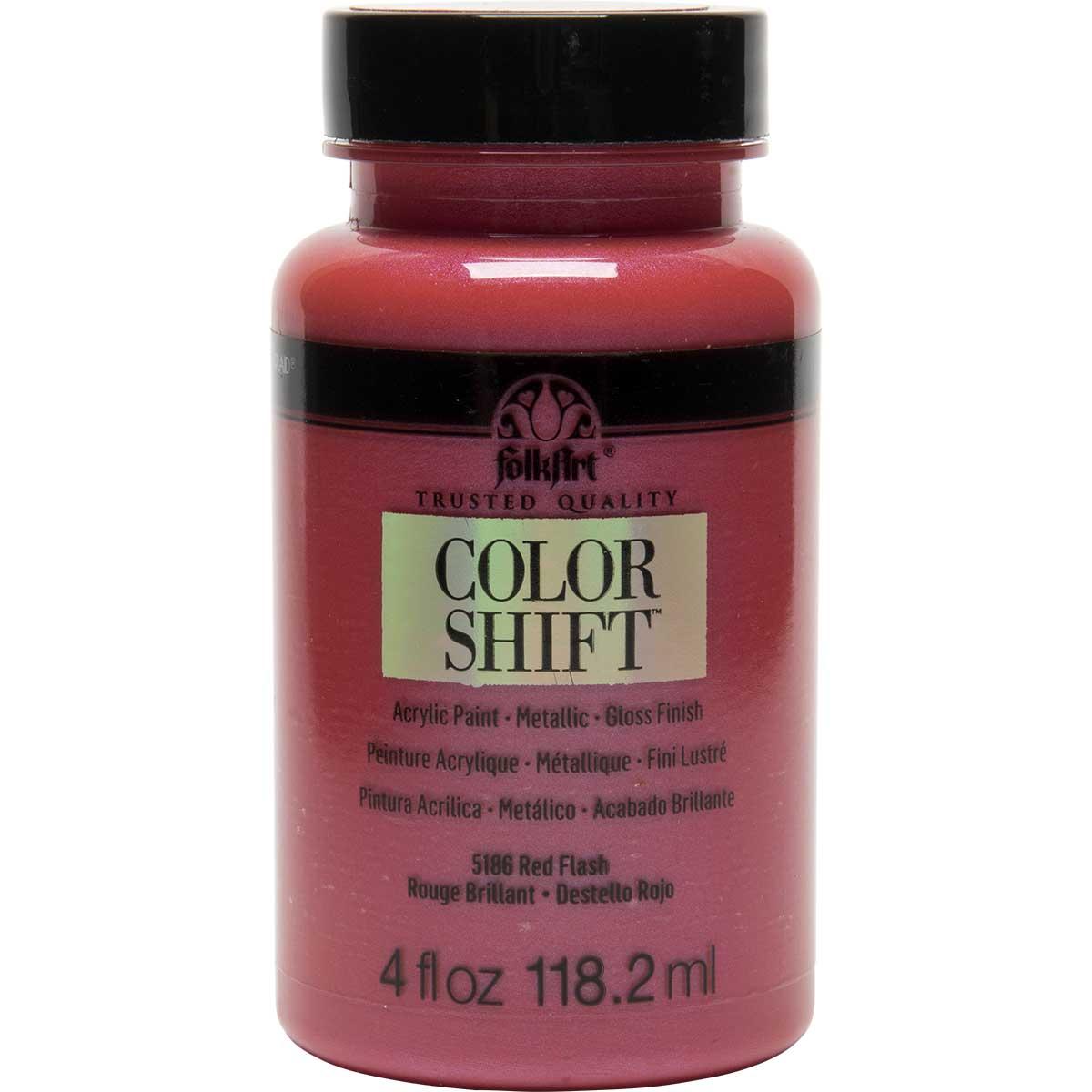 FolkArt ® Color Shift™ Acrylic Paint - Red Flash, 4 oz.