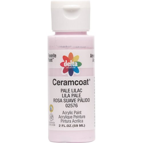 Delta Ceramcoat ® Acrylic Paint - Pale Lilac, 2 oz.