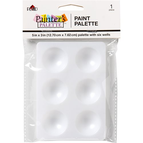 Plaid ® Painter's Palette™ Paint Palette