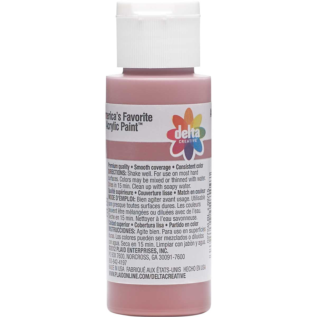 Delta Ceramcoat ® Acrylic Paint - Frosted Cranapple, 2 oz. - 02724