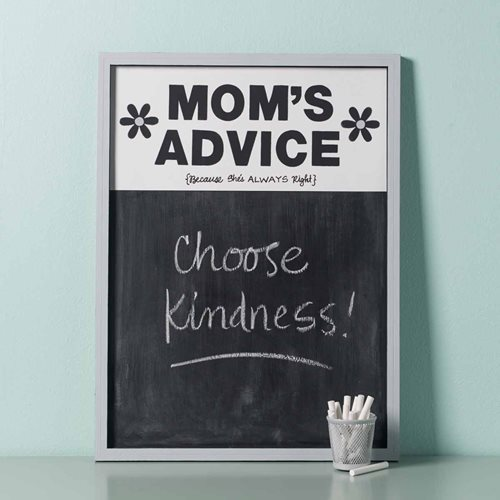 How to Make a Mom's Advice Chalkboard