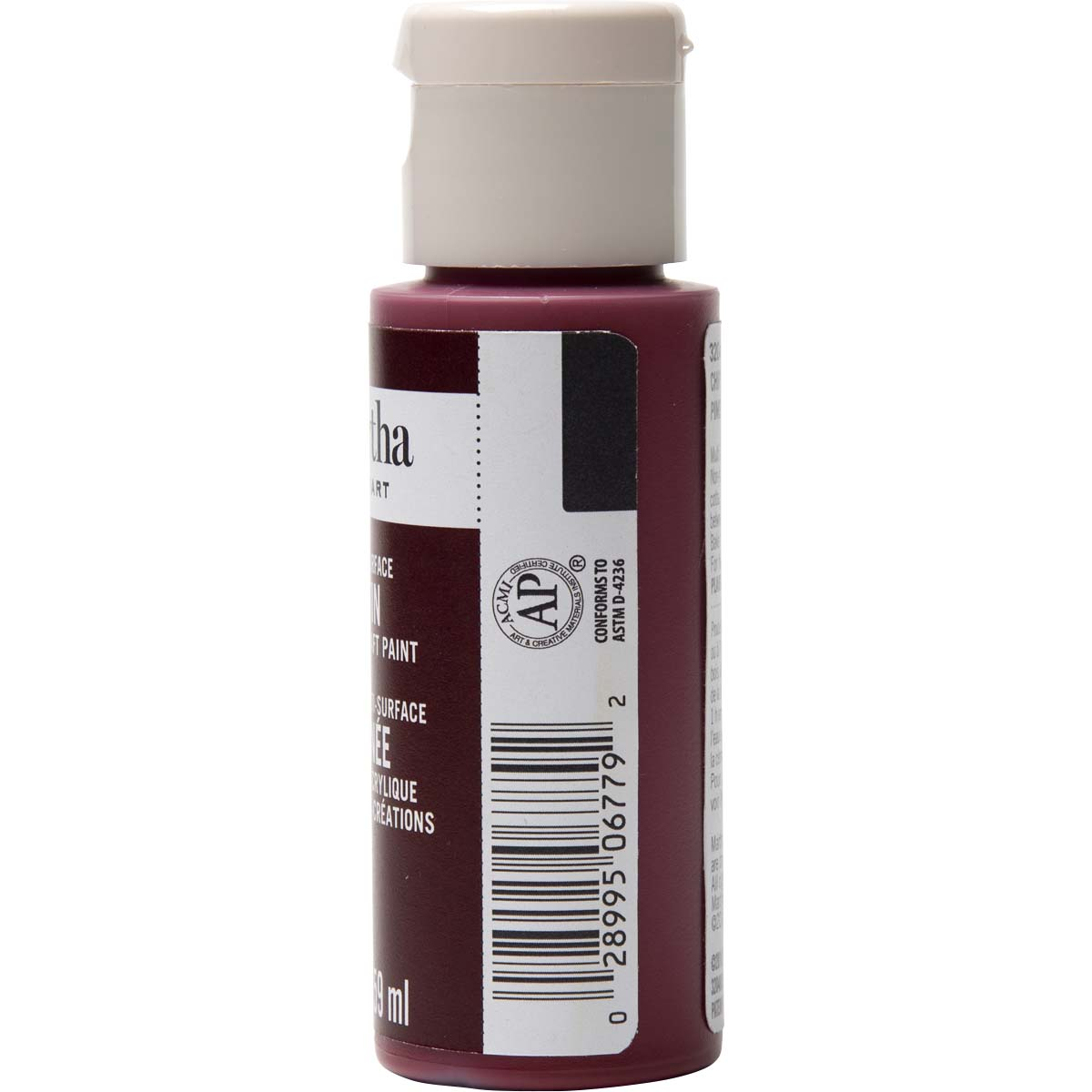Martha Stewart ® Multi-Surface Satin Acrylic Craft Paint - Chipotle, 2 oz. - 32048CA