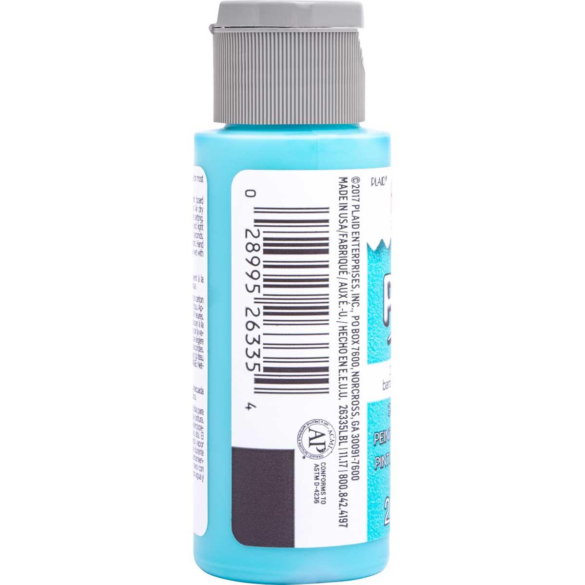 Fabric Creations™ Plush™ 3-D Fabric Paints - Blue Slushie, 2 oz.