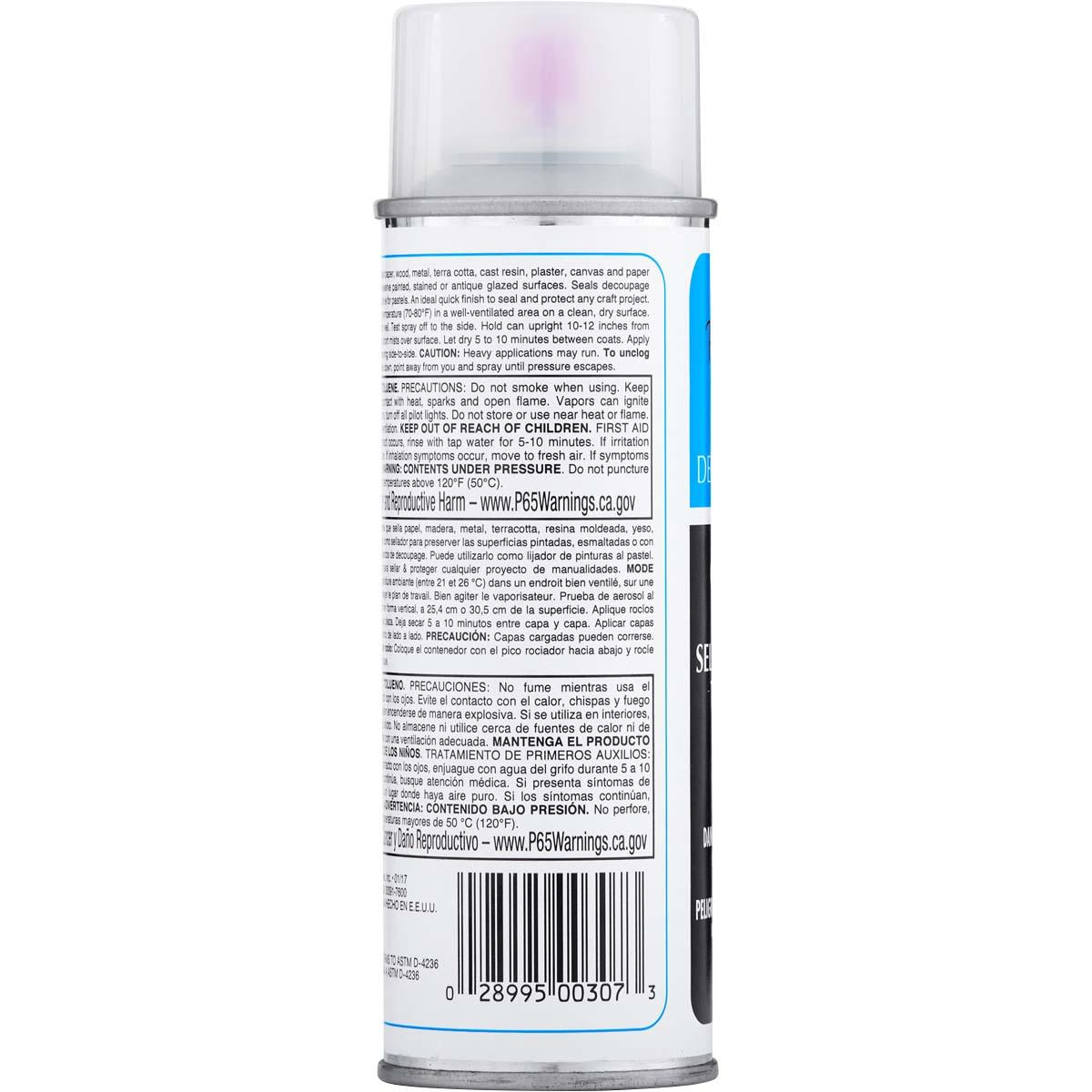 Plaid ® Patricia Nimocks™ Clear Acrylic Sealers - Matte, 6 oz. - CS200307