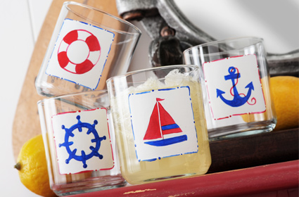 Nautical Glass Set