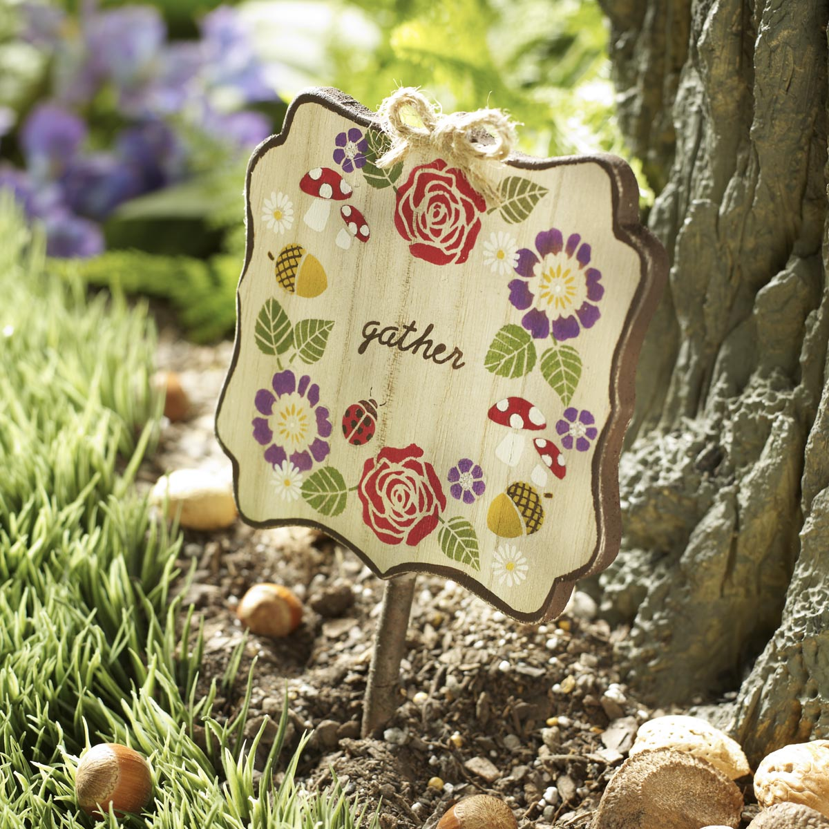 FolkArt ® Painting Stencils - Mini - Garden - 59794