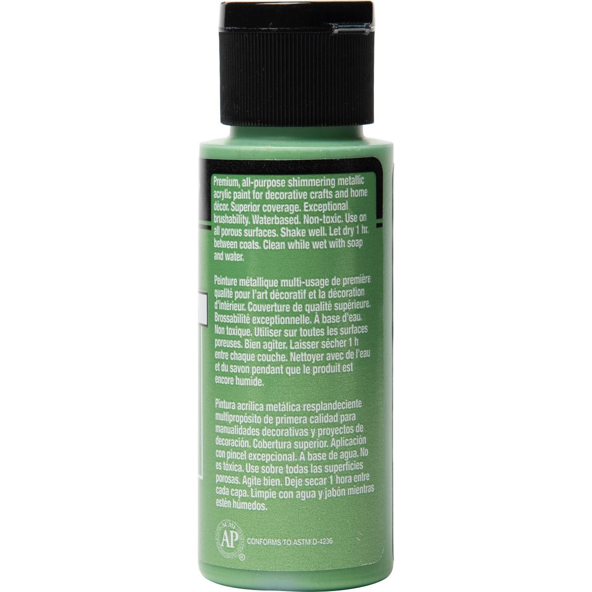 FolkArt ® Metallics - Jade Shimmer, 2 oz.