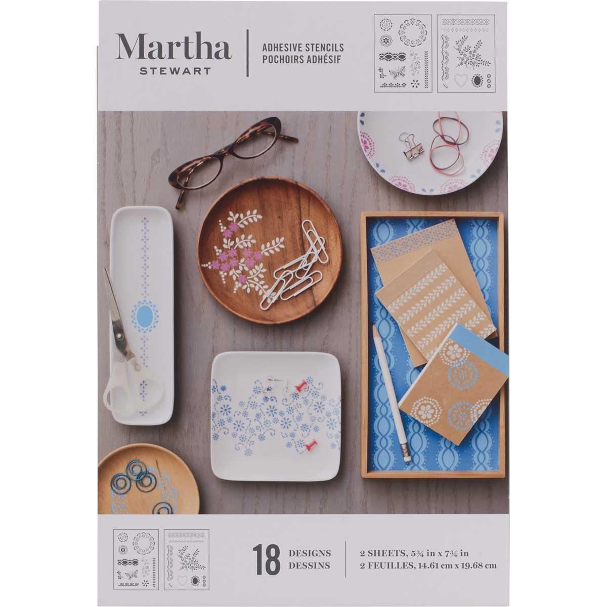 Martha Stewart® Fair Isle Dots Adhesive Stencils