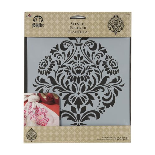 FolkArt ® Painting Stencils - Large - Damask 2
