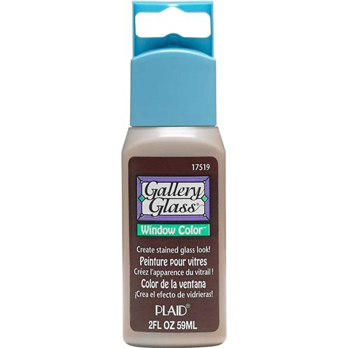 Gallery Glass ® Window Color™ - Root Beer Frost, 2 oz. - 17519