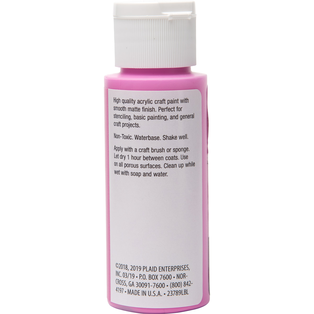 Plaid ® Painter's Palette™ Acrylic Paint - Bright Pink, 2 oz.
