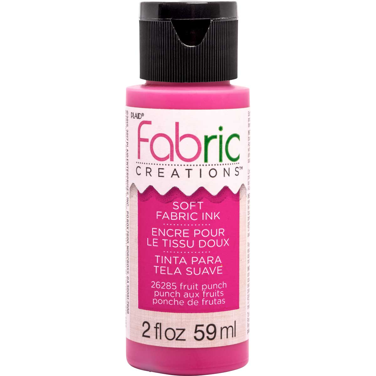 Fabric Creations™ Soft Fabric Inks - Fruit Punch, 2 oz. - 26285