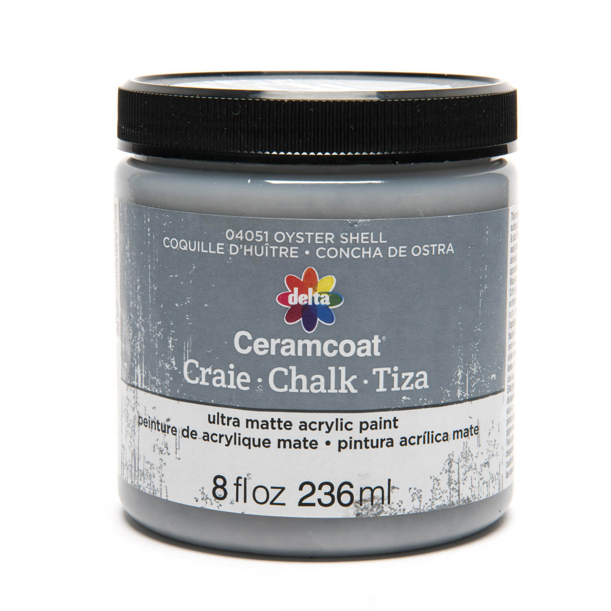 Delta Ceramcoat ® Chalk - Oyster Shell, 8 oz.